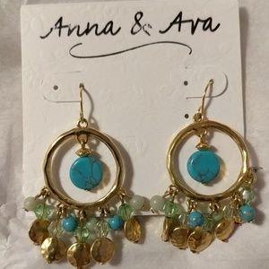 Anna & Ava Dangling Earrings